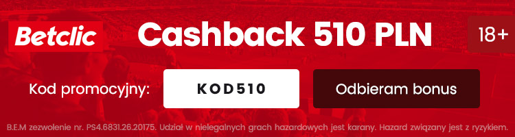 bukmacher betclic polska bonus za darmo